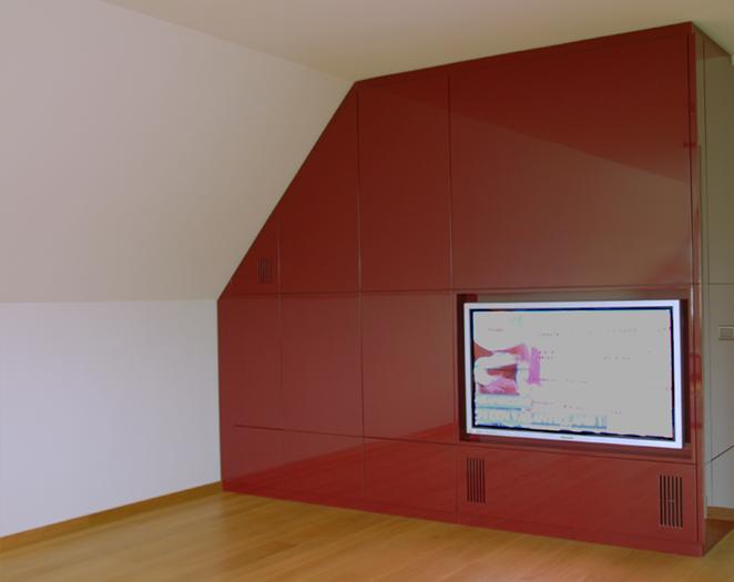Tv In Vloer : Maatwerk maes boons tv meubel strak verdoken handgreep kasten